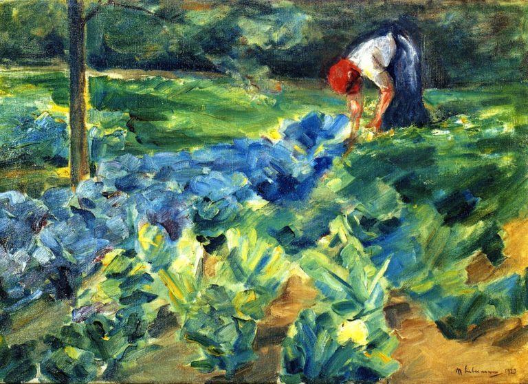 Cabbage Field | Max Liebermann | oil painting