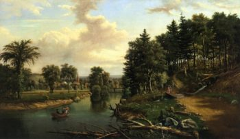 South of Sherburne on the Chenango | Levi Wells Prentice | oil painting