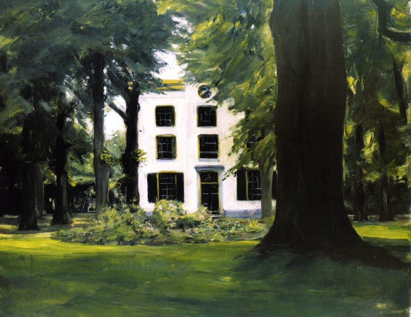 Country House in Hilversum | Max Liebermann | oil painting
