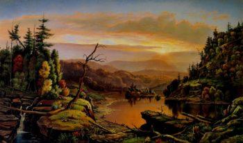 River Valley Landscape | Levi Wells Prentice | oil painting