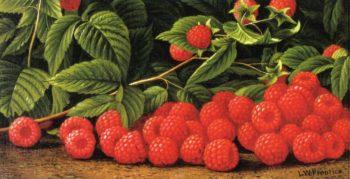 Raspberries | Levi Wells Prentice | oil painting