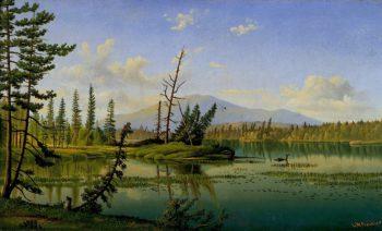 Raquette Lake | Levi Wells Prentice | oil painting
