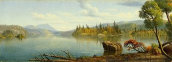 Rac Lake | Levi Wells Prentice | oil painting
