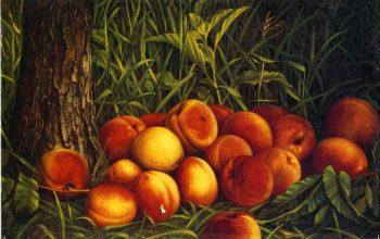 Peaches   Levi Wells Prentice   oil painting