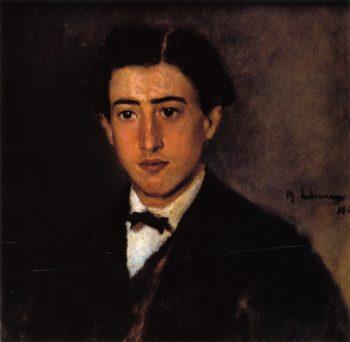 Portrait of Felix Liebermann | Max Liebermann | oil painting