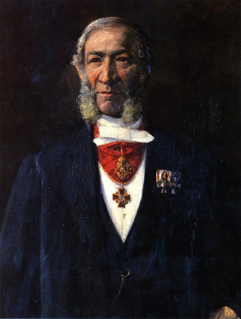 Privy Councilor Benjamin Liebermann   Max Liebermann   oil painting