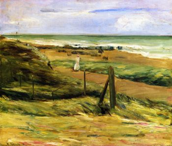 Promenade on the Dunes at Noordwijk | Max Liebermann | oil painting