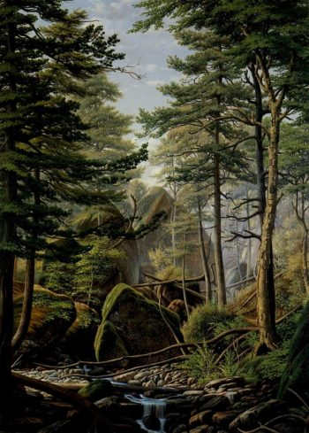 Hoopers Gorge Onondaga Valley | Levi Wells Prentice | oil painting