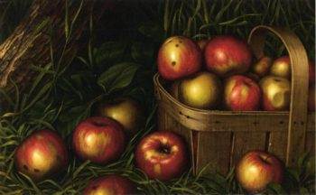 Harvest of Apples | Levi Wells Prentice | oil painting