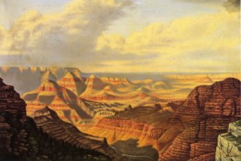 Grand View Grand Canyon National Park Arizona | Levi Wells Prentice | oil painting