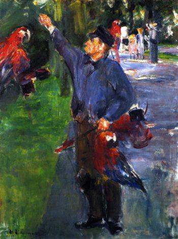 Study for Parrotman | Max Liebermann | oil painting