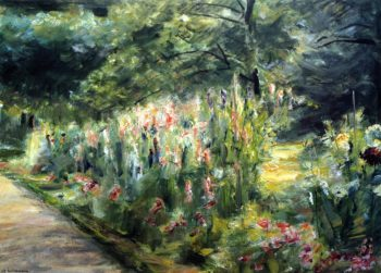 The Kitchen Garden in Wannsee Toward the Southeast | Max Liebermann | oil painting