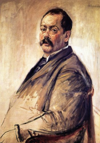 The Painter Lovis Corinth | Max Liebermann | oil painting