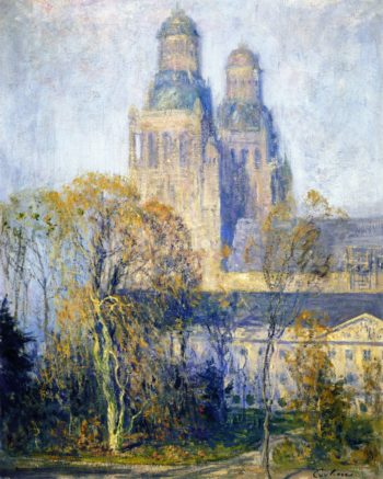 Cathedral Tours | Guy Orlando Rose | oil painting