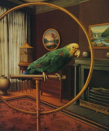 A Portrait   Levi Wells Prentice   oil painting