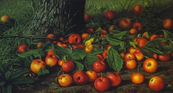 An Abundance of Apples | Levi Wells Prentice | oil painting