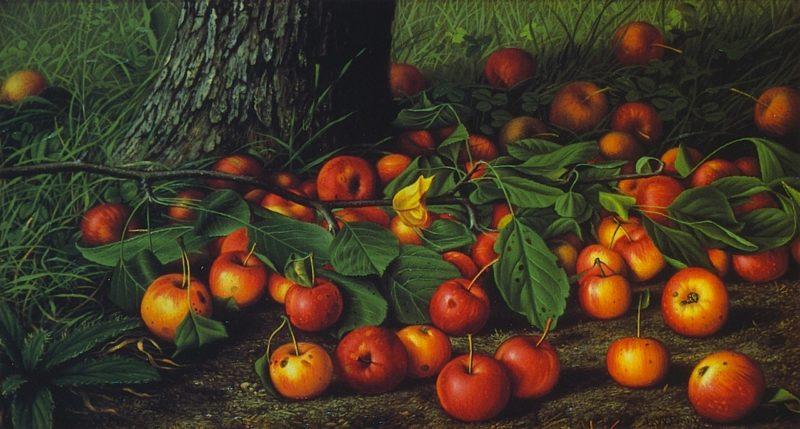 An Abundance of Apples | Levi Wells Prentice | oil painting