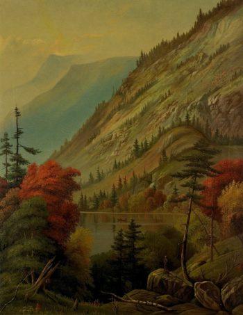 Adirondack Scenes | Levi Wells Prentice | oil painting