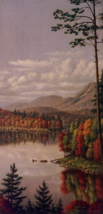 Adirondack Scene | Levi Wells Prentice | oil painting