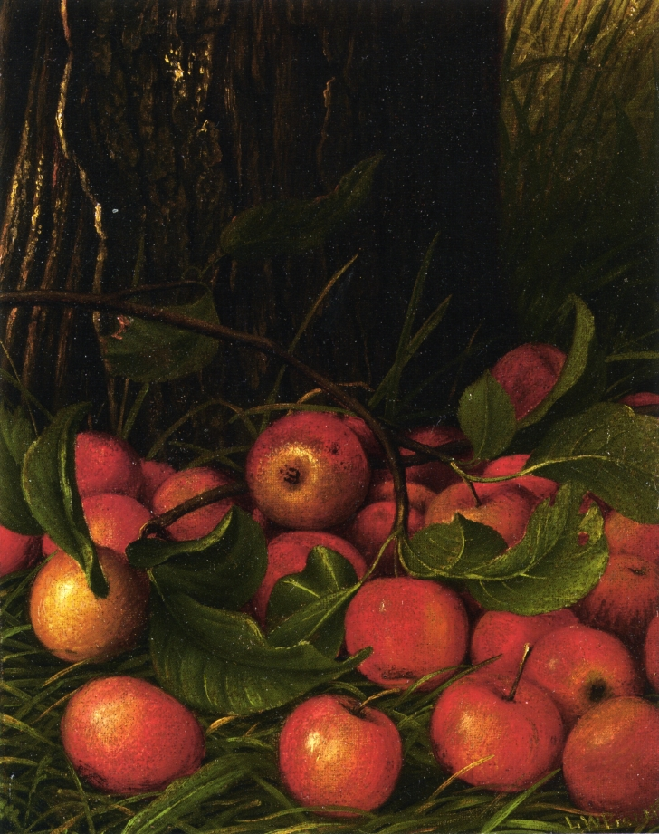 Apples under a Tree | Levi Wells Prentice | oil painting