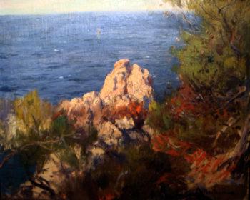 Acantilados | Eliseo Meifren i Roig | oil painting
