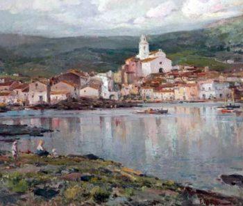 Cadaques 1 | Eliseo Meifren i Roig | oil painting