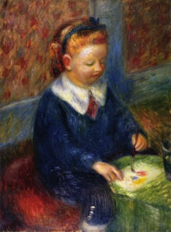 Lenna Painting | William James Glackens | oil painting