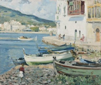 Cadaques | Eliseo Meifren i Roig | oil painting