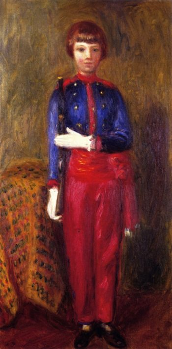 Lenna as Toy Soldier | William James Glackens | oil painting
