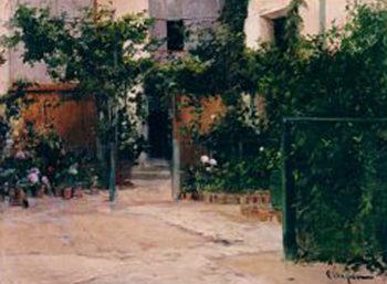 Casa con Jardin | Eliseo Meifren i Roig | oil painting