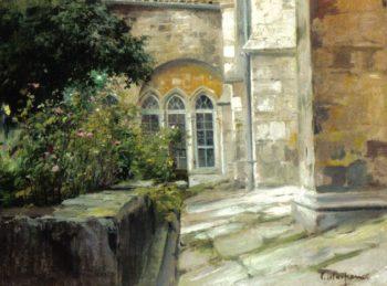 Claustro 1 | Eliseo Meifren i Roig | oil painting