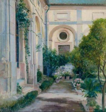 Claustro | Eliseo Meifren i Roig | oil painting