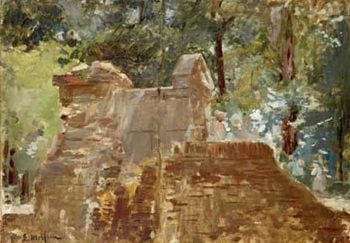Estudio de paisaje | Eliseo Meifren i Roig | oil painting