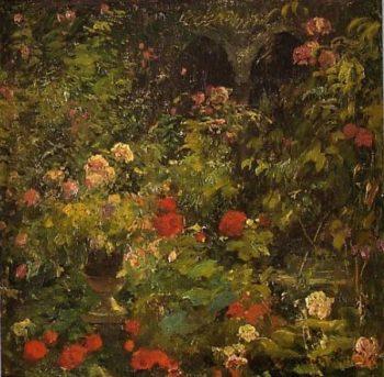 Jardin 1 | Eliseo Meifren i Roig | oil painting