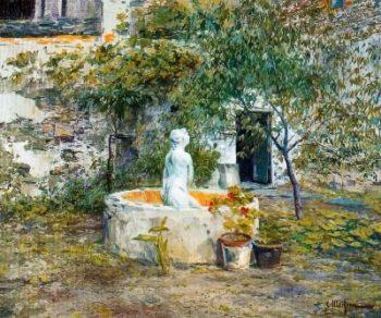 Jardin 3 | Eliseo Meifren i Roig | oil painting
