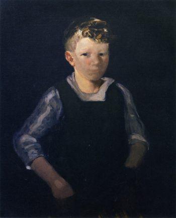 Patsy the Cobbler | George Benjamin Luks | oil painting