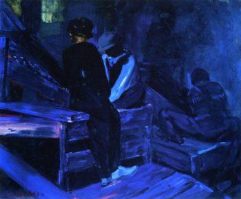 The Breaker Boys | George Benjamin Luks | oil painting