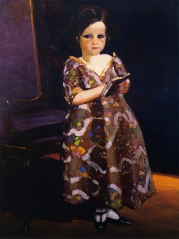 Jenny McKean as Infanta | George Benjamin Luks | oil painting