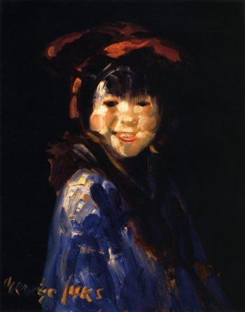 The Clown | George Benjamin Luks | oil painting