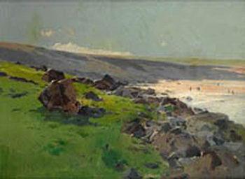 Mar de la plata | Eliseo Meifren i Roig | oil painting