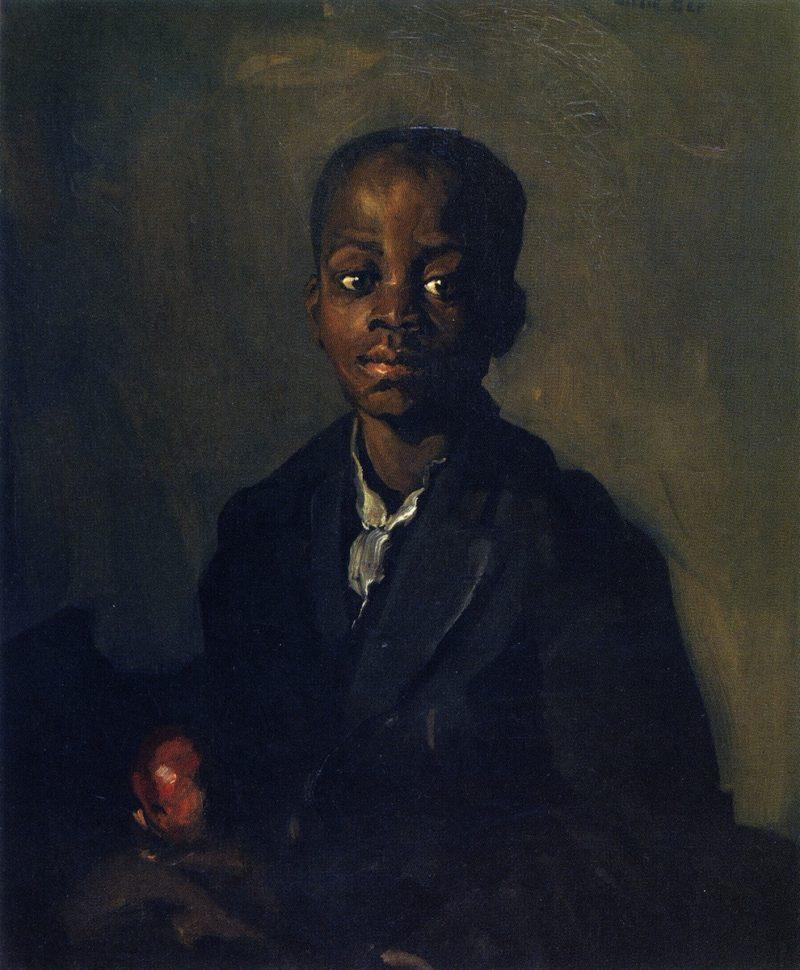 Willie Ge | Robert Henri | oil painting