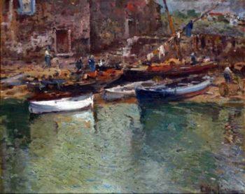 Marina 1 | Eliseo Meifren i Roig | oil painting