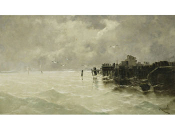 Marina 4 | Eliseo Meifren i Roig | oil painting