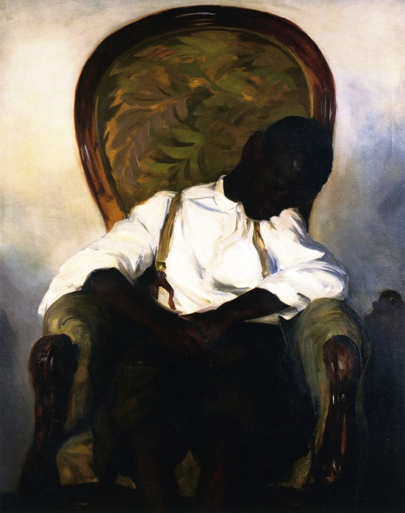 The Failure of Sylvester   Robert Henri   oil painting