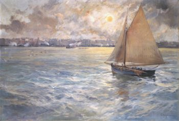 Marina 6 | Eliseo Meifren i Roig | oil painting