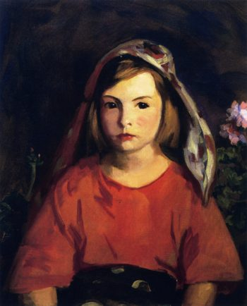 Agnes | Robert Henri | oil painting