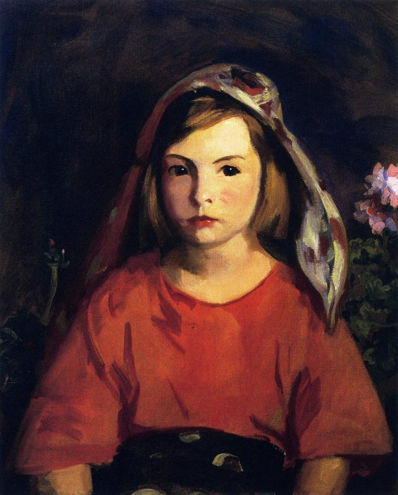 Agnes   Robert Henri   oil painting