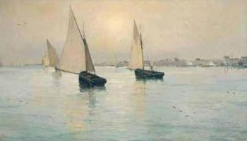 Marina 8 | Eliseo Meifren i Roig | oil painting