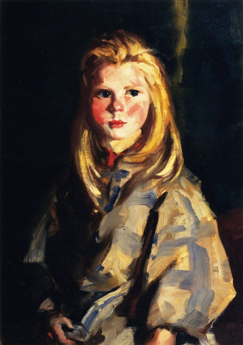 Young Blond Girl Corrymore Lass | Robert Henri | oil painting