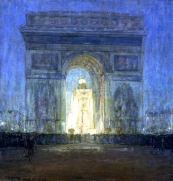The Arch | Henry Ossawa Tanner | oil painting